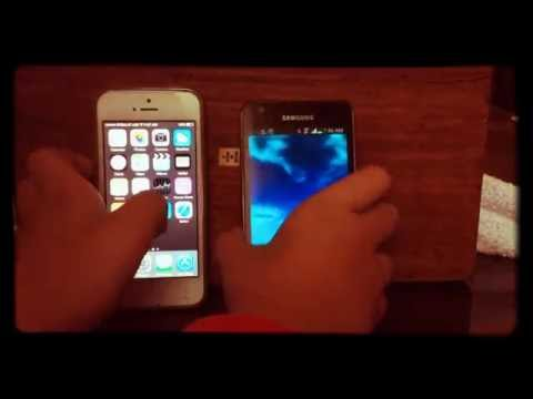 iPHONE 5 VS SAMSUNG S2!!!!    PRØ EDITION