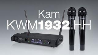 Kam KWM1932 HH - dual mic UHF wireless system video update