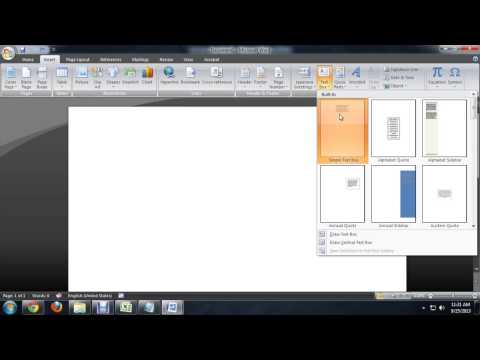 How to Go to the Center of the Page in Microsoft Word : Microsoft Word Basics