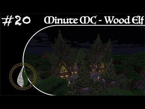 Minute Minecraft - Time Lapse - Wood Elvish Village - Ep.20