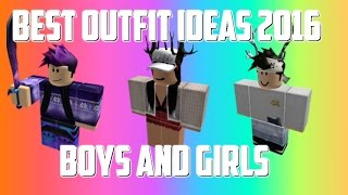 Roblox - BEST OUTFIT IDEAS 2017(BOYS AND GIRLS) | Music Jinni