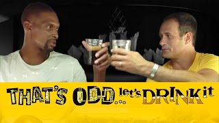 Chris Bosh and Sam Calagione Brew Beer in a Stretch Hummer | That's Odd, Let's Drink It