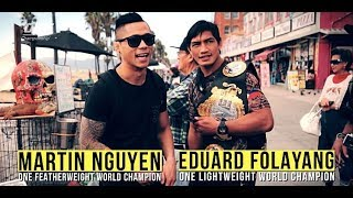 Eduard Folayang and Martin Nguyen Set Friendship Aside for History