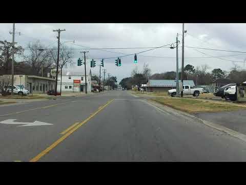 LA 14 BUSINESS (Abbeville) westbound (Part 1/2)
