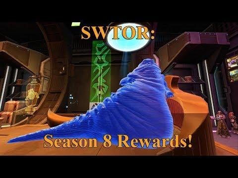 SWTOR: Season 8 Ranked PvP Rewards Showcase!