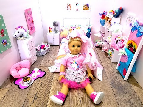 DIY JOJO SIWA'S  BEDROOM ACCESSORIES AND DECORATIONS for AG DOLL