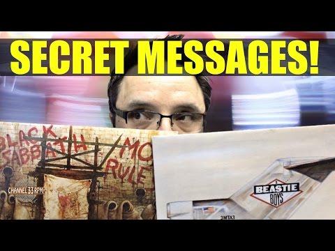 HIDDEN IMAGES & secret messages on record album covers | VINYL COMMUNITY