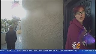 Man, Woman Try To Get Into House Burned By Gas Explosion