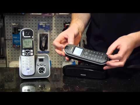 Panasonic DECT Phone Pairing, How to Video. (Register Handset)