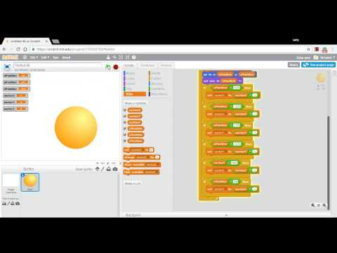 Make a Bouncing Ball in Scratch - Episode 7 - 3D!