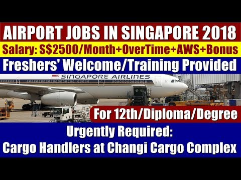 Airport Jobs In Singapore: