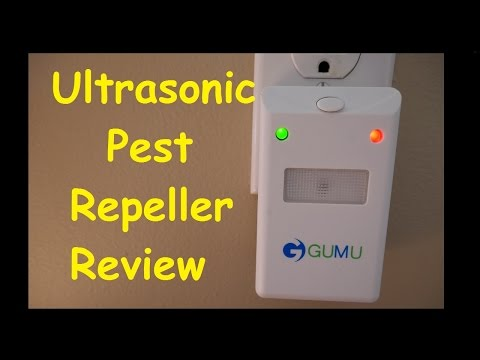 Ultrasonic Pest Repeller Review // Ants - Spiders - Mice