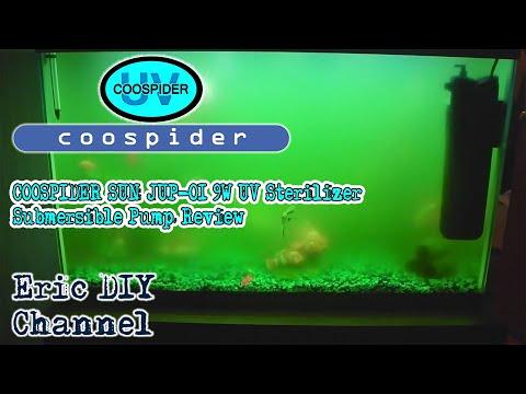 SunSun JUP 01 9W UV Sterilizer Submersible Filter Pump Review