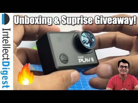 Noise Play 2 Action Camera Unboxing & Surprise Giveaway | Intellect Digest