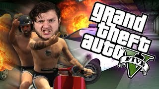 GTA 5 -  MOPED GANG!!  (GTA 5 PC Online Funny Moments)