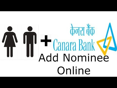 How to Add Nominee online in Canara Bank - Banking Tutorial video explains in easy steps