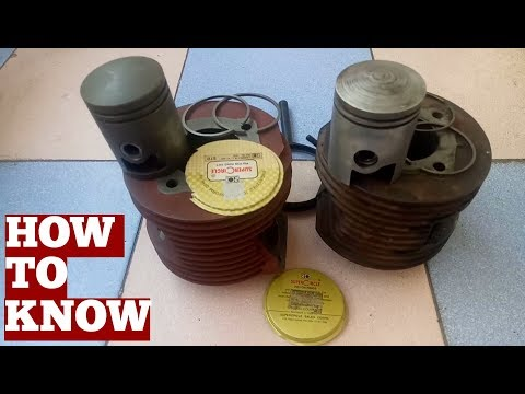 How To Know Cylinder Liner Wear At Home Without Tools-Knowing Lambretta Scooter Cylinder Liner Wear