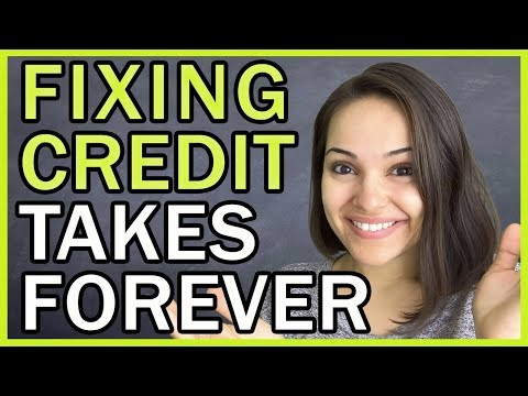 Why Does It Take So Long To Fix Your Credit??!!!