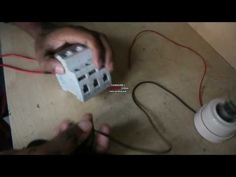Circuit Connection | How To connect a Circuit Breaker | C.B Connection |