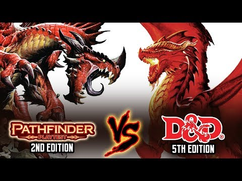 Pathfinder 2e VS Dungeons & Dragons 5e - Can This TRPG Challenge D&D's Dominance?