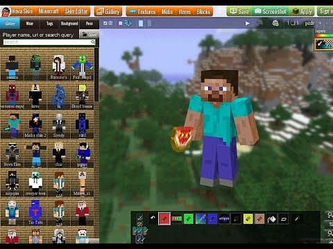 Minecraft 1.8 Easy Skin Editing Tutorial!