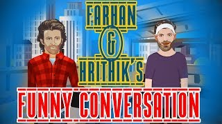 Farhan and Hrithik's funny conversation | ZaaliMaa | What the Farhan | Ft. Mirchi Kunal Filmy Mirchi