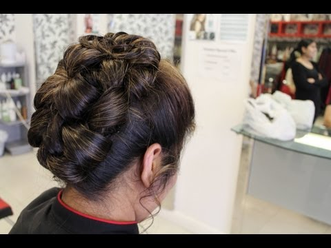 TUTORIAL : Indian Hairstyles for Long Hair