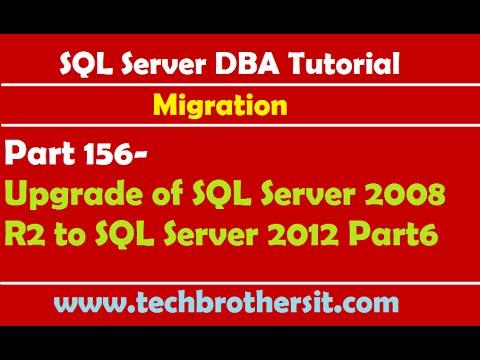 SQL Server DBA Tutorial 156-Upgrade of SQL Server 2008 R2 to SQL Server 2012 Part6
