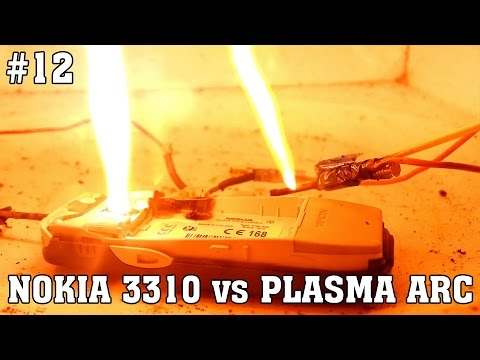 How to destroy Nokia 3310 with plasma