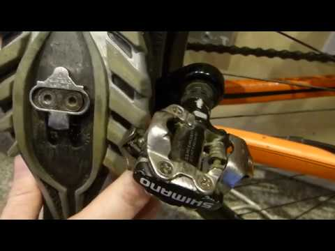 Commuter review: Shimano SM-SH51 pedal cleat + PD-M520 Deore pedal