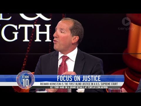 Meet The First Blind Judge Appointed To A U.S. Supreme Court | Studio 10