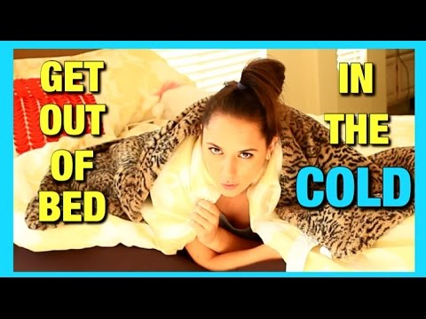How To Get Out Of Bed On A Cold Morning - USELESS TIPS EP. 2