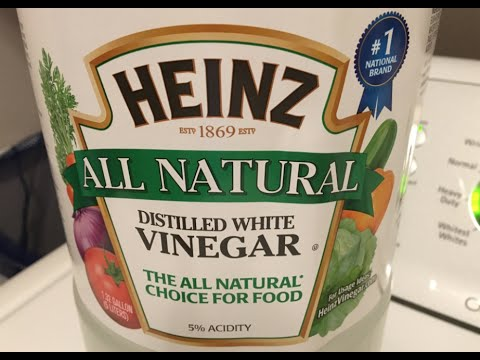 Vinegar as Laundry Cleaner
