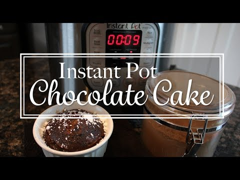 Instant Pot MINI CHOCOLATE CAKE!!!