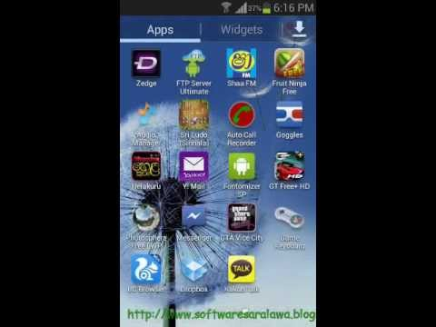 How install sinhala for android without root)