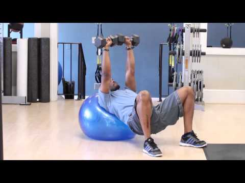 Upper Chest Workout With Dumbbells & Without an Incline Bench : Getting Fit