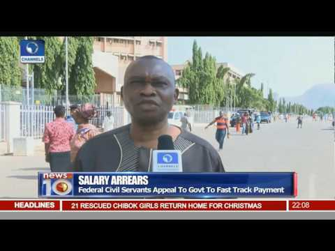 Salary Arrears: Federal Civil servants Appeal To Govt To Fast Track Payment