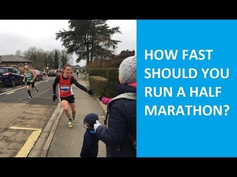 How to set your half marathon race pace and racing strategy