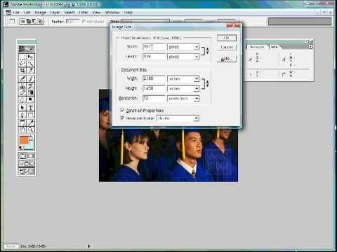 Resizing Images Without Distorting Proportions Using PhotoShop