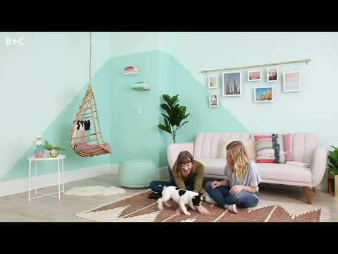 Handygirl's Guide: How to Paint a Statement Wall