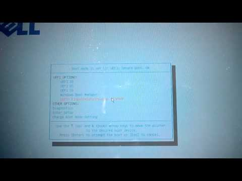 How to select boot device in Dell Latitude 10 Essential Windows 8 Tablet using Volume Up button
