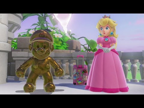 Super Mario Odyssey - All Princess Peach Locations