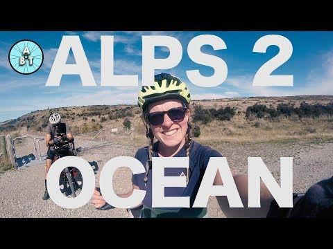 Cycling the Alps 2 Ocean Trail - New Zealand South Island