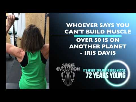 72 Years Old Building Muscle | Fitness & Exercise Over 70 Years
