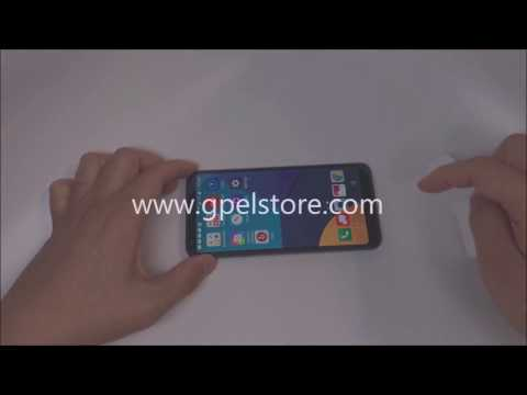 How to Install GPEL Tempered Glass Screen Protector for LG G6