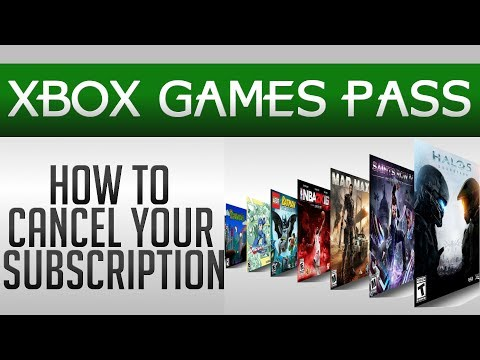 How To Cancel Xbox Games Pass