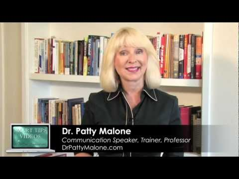 Smart Tips - How To Calm Your Nerves When Speaking in Public by Dr. Patty Malone