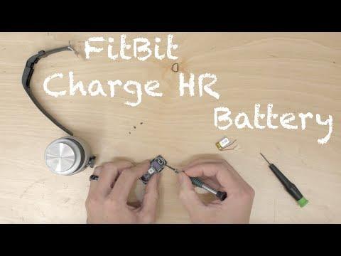 How to Repair Fitbit Charge HR Battery Swap Replacement Tutorial JoesGE Repairs