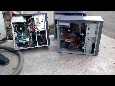 dirtiest pc dust cleaning - dusty pc clean