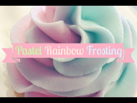Pastel Rainbow Frosting